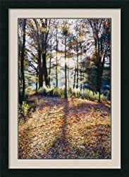 Autumn Sunrise Framed Print by Jon R. Friedman Framed