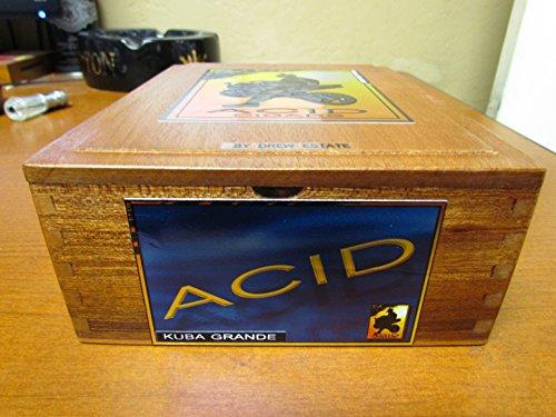 PREMIUM Wooden Empty Cigar Box - ACID BOX 0