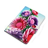 Universal 10.1 & 10 Inch Tablet Pc Pu Leather Folio Case Cover Fits RCA Pro 10.1