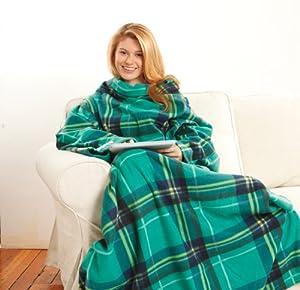 Amazon Com Snuggie Fleece Blanket With Sleeves