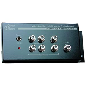 Open House H816BID Bi-Directional Whole House Video Distribution Amplifier (Discontinued by Manufacturer)
