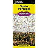 Spain and Portugal Adventure Map