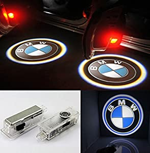 Bmw Led Logo Light Ghost Shadow Projector Car Door Courtesy Laser 3 Series 316i 318i 320i 320si 323i 325i 328i 330i 335i 335is M3 2006-2014 by Top Auto Accessory