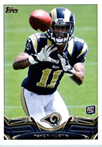 2013 Topps NFL Football Card # 112 Tavon Austin Rookie Card St. Louis Rams by Topps