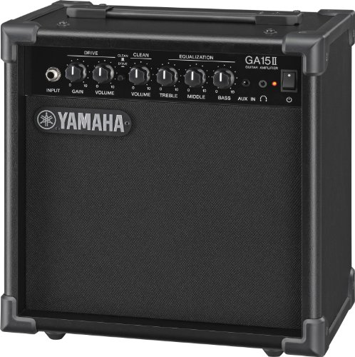 Yamaha GA15II Ampli pour Guitare à transistor Noir