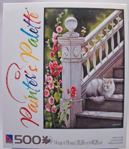 Painter's Palette 500 Piece Jigsaw Puzzle: Sophie's Place