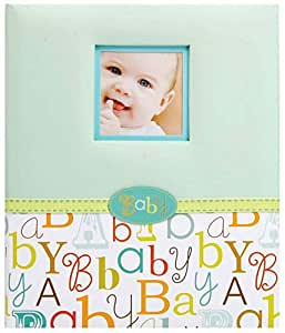 C.R. Gibson 5 Year Loose Leaf Baby Memory Book, Baby Love