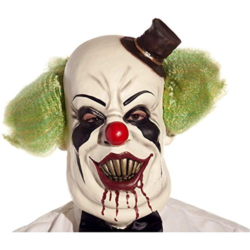 Top Hat Killer Clown Mask - One Size
