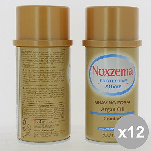 set-12-noxzema-schiuma-barba-300-argan-cura-del-viso