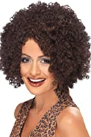 Smiffy's Scary Power Wig - Brown