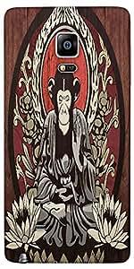 Snoogg Meditating Monkey 2656 Designer Protective Back Case Cover For Samsung...