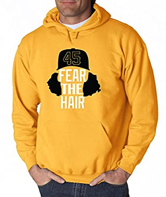 "Gerrit Cole Pittsburgh Pirates ""Fear The Hair"" Hooded Sweatshirt"