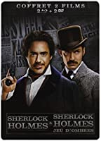 Sherlock Holmes + Sherlock Holmes 2 : Jeu d'ombres [Pack Collector boîtier SteelBook]