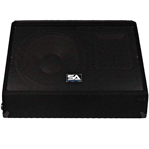 Seismic audio 15 inch pa dj speaker 350 watts pro audio for 15 inch floor speakers