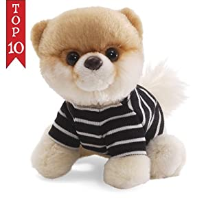 "The World'S Most Huggable Since 1898 - Gund 5"" Itty Bitty Boo in T-Shirt Plush"