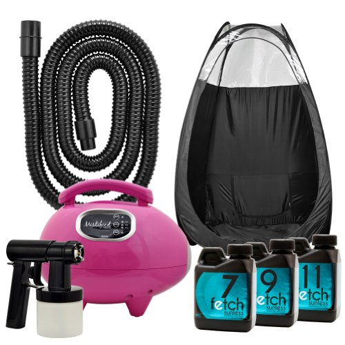 Mistified Pink Hvlp Spray Tanning Machine Fetch Dha Sunless Black Tent Kit 2A front-770259