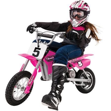Razor MX350 Dirt Rocket Electric Motocross Bike, Pink, Scaled down, electric-powered dirt bike (Electric Dirt Bikes For Sale compare prices)