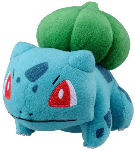 Pokemon-Best-Wishes-Plush-Bulbasaur-Fushigidane-N-39-by-Takara-Tomy-japan-import