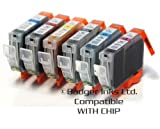 6 Compatible Printer Ink Cartridges for Canon i950