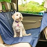 Hundedecke Auto - Autoschondecke für Hunde - Aus wasserfestem, hochwertigem Material - Inkl. Reißverschlusstasche aus Polyester zum Verstauen der Decke - Schützen Sie Ihre Autositze vor Schmutz und Tierhaaren