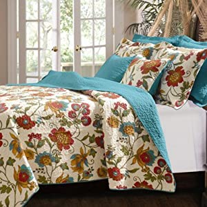 Greenland Home Clearwater 2-Piece Quilt Set, Twin