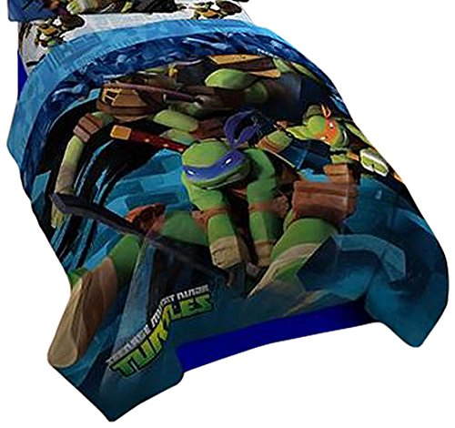 Nickelodeon Teenage Mutant Ninja Turtles Full Reversible Comforter