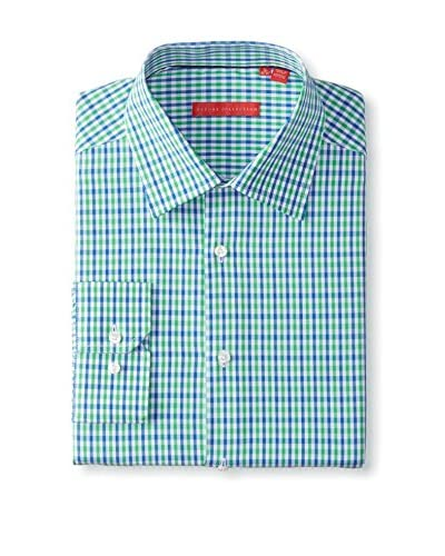 Report Men's Check Long Sleeve Dress Shirt