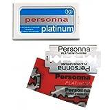 Personna Platinum Rasierklingen 10 Rasierklingen für Rasierhobel