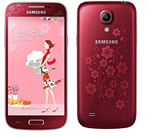 SAMSUNG I9192 GALAXY S4 MINI Dual Sim Quad Band Sim Free European Version Smartphone Factory Unlocked (RED LaFleur)