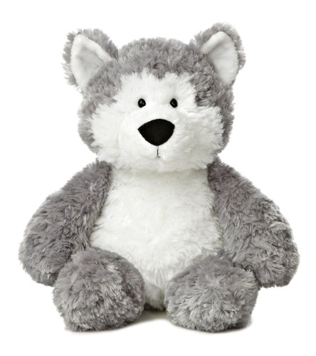 "Aurora World Tubbie Wubbies Juneau Husky Plush, 12"" Tall"