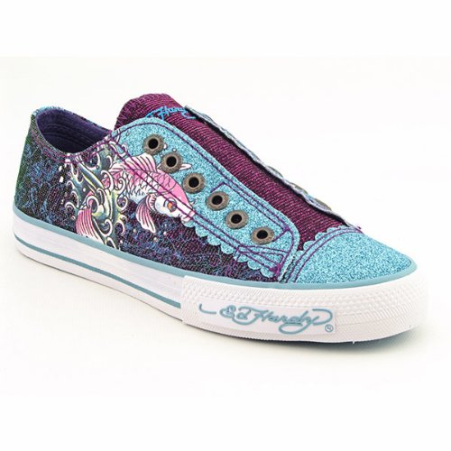 Ed Hardy 11FAS103W LR Astroid Shoes Aqua Womens