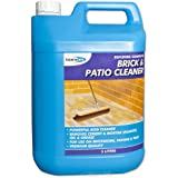 Bond-It Brick & Patio Acid based Cleaner - 5 Litre, A Powerful acid based cleaner that will remove cement and mortar splashes, grime, oil, grease and other stains on brickwork, patios, garages, paving, concrete floors and warehouses
