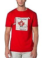 CANADIAN PEAK Camiseta Manga Corta Jaby (Rojo)