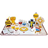 Childrens My Pop Out Mass Durable Cardboard Educational Table Top 14 Piece Set