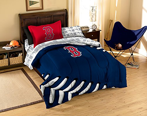 Mlb Boston Red Sox Twin Bed In A Bag, 64 X 84-Inch front-857573