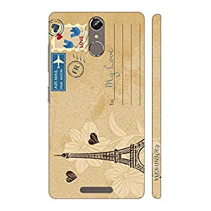 Enthopia Designer Hardshell Case Postcard With Love Back Cover for Gionee Elife S6S