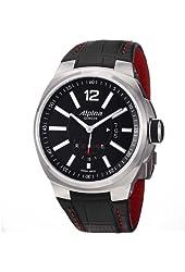 Alpina Racing Level 5 Automatic Black Dial Black Leather Mens Watch AL535AB5AR26