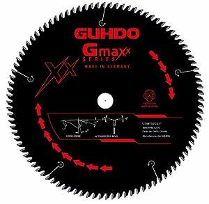 Guhdo Gmaxx Series 2400.120A96 12 -Inch 96 Teeth Carbide Tipped Particle Board Circular Saw Blade