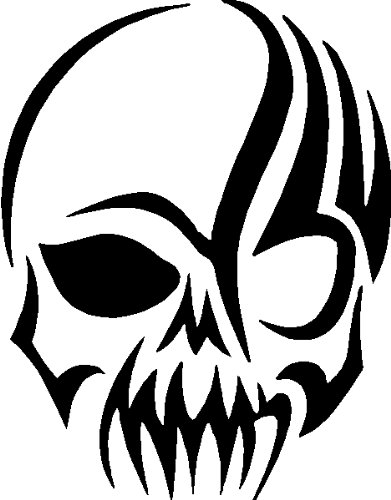 tribal stickers skull wall STICKERS decals: TRIBAL CAR superheroes GRAPHICS DECAL SKULL