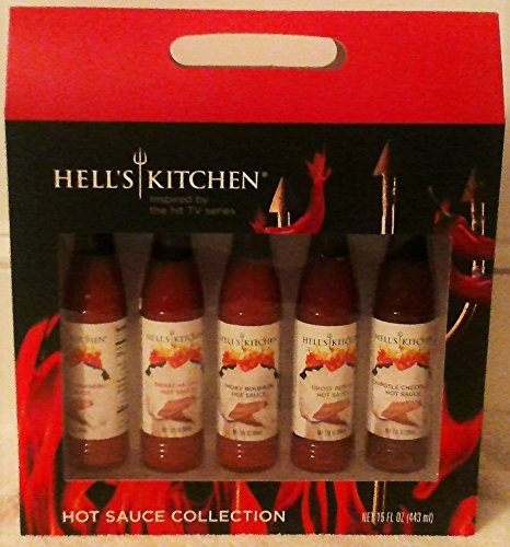 Hell's Kitchen Hot Sauce Collection Holiday Sampler Gift Set (Best Hot Sauce compare prices)