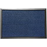 "Rubber-Cal ""Nottingham"" Carpet Floor Mats - 4x6ft - Tan, Brown, Gray, Charcoal, or Blue Carpet Mats"