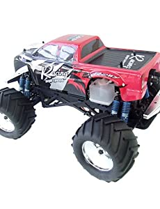 QWG 3CH 1:8 RC Truck Nitro Gas 28CC Engine 4WD Car 3-speed Gearbox Monster Mega Radio Remote Control Trucks Toy