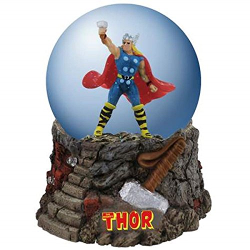 WL SS-WL-22902 100mm Mighty Thor Collectible Cartoon Superhero Water globe Figurine
