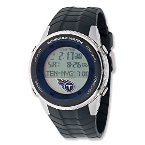 Mens NFL Tennessee Titans Schedule Watch by Jewelry Adviser Nfl Watches