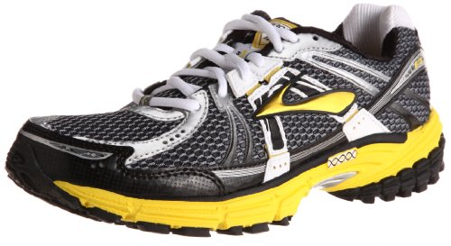 Brooks Men's Adrenalinegts12 M Yellow/Black Trainer 1101061D738 9.5 UK, 10.5 US