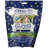 Newman's Own Organics Lamb and Barley New Zealand Ranch Style Dog Treats, 10-Ounce (Pack of 6) ~ Newman's Own