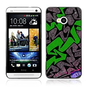 Amazon.com: YOYOSHOP [Graffiti Pattern] HTC One M7 Case: Cell Phones
