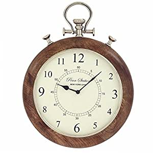 Amazon.com: NEW Casa Cortes Brentwood 15-inch Metal Pocket Watch Wall