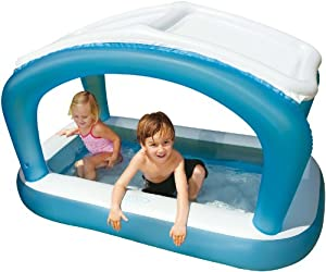Intex 57423np piscina inflable para ni os techada for Piscina inflable intex para bebe