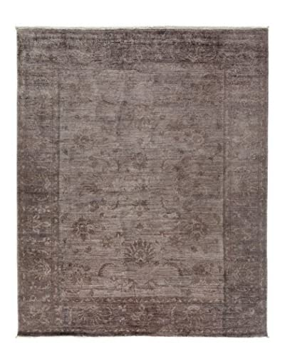 Darya Rugs Transitional Oriental Rug, Purple, 9′ 10″ x 8′ 2″